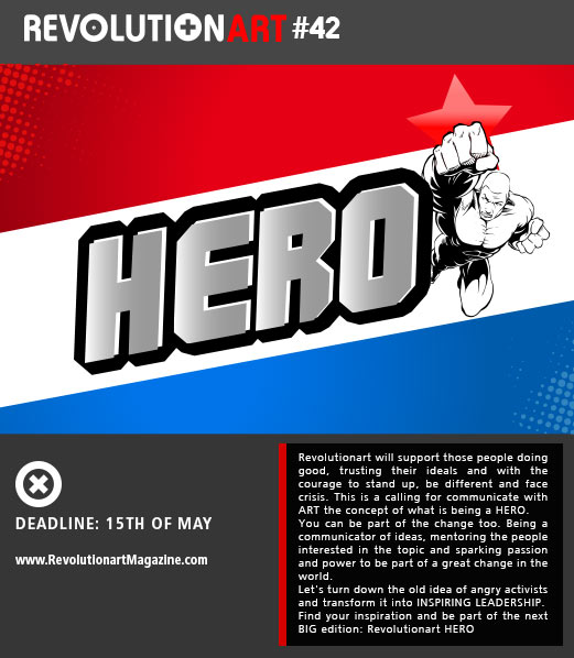 Calling for HERO artists and designers