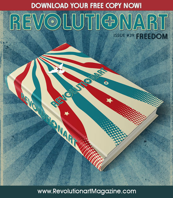 Revolutionart Magazine. Art and design. Edition 39