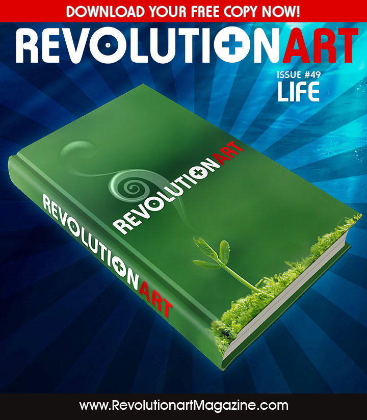 revolutionart 49 life - free art and design magazine